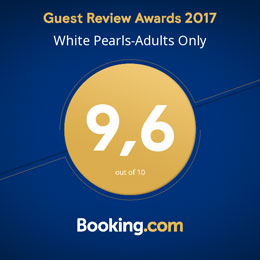 Luxury Suites in Kos, White Pearls - Booking.com award